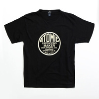 ATOMIC® T-Shirt Short  Atomic Logo - Navy Blue